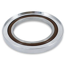 KF Centering Ring with Oring and Outer Ring