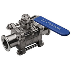 KF Vacuum Manual Ball Valve