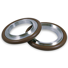 KF Reducer Centering Ring with Oring