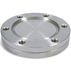 CF Blank Flange Nonrotatable With Tapped Bolt